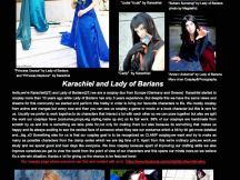 26.10.2015 - Karachiel & Lady of Barians - CosplayZine: Halloween Edition